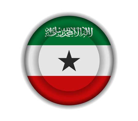 somaliland: button flags somaliland Illustration