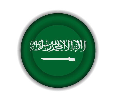 saudi arabia: button flags saudi arabia
