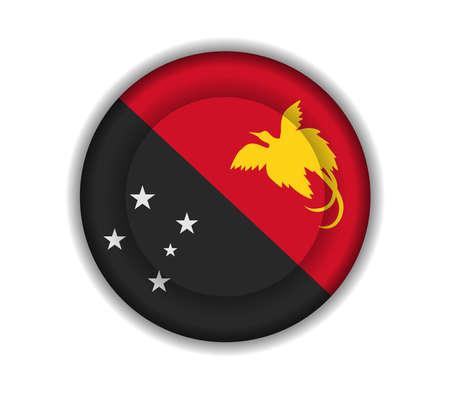 papouasie: bouton drapeaux Papouasie Nouvelle Guin�e