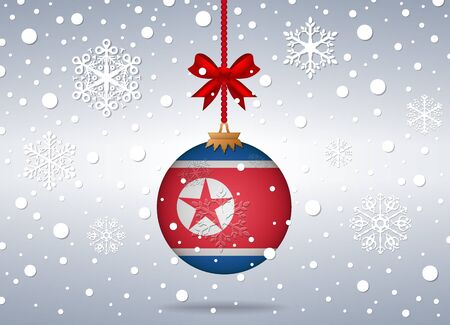 north korea: christmas background north korea
