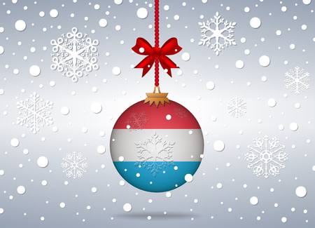 luxembourg: christmas background luxembourg
