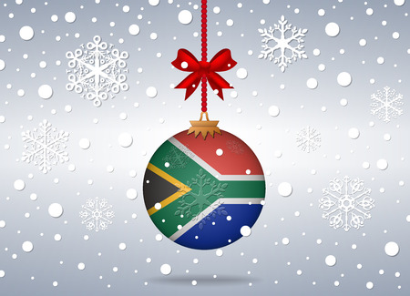 christmas background south africa stock vector 41411852 - Christmas In South Africa