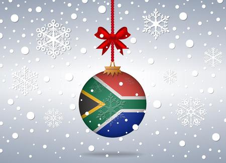 Kerst achtergrond Zuid-Afrika
