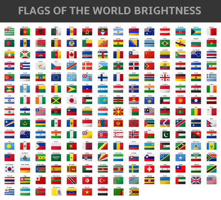 flags of the world brightness