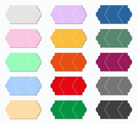 liquidation: price tag colors