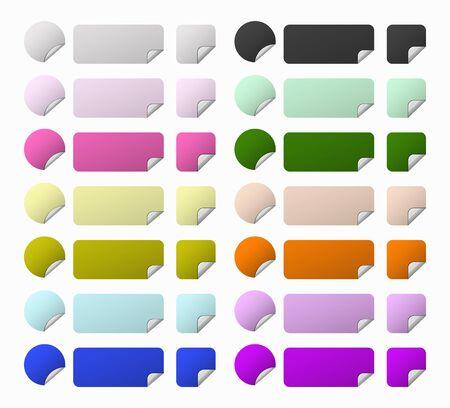 rebate: set labels shapes and colors