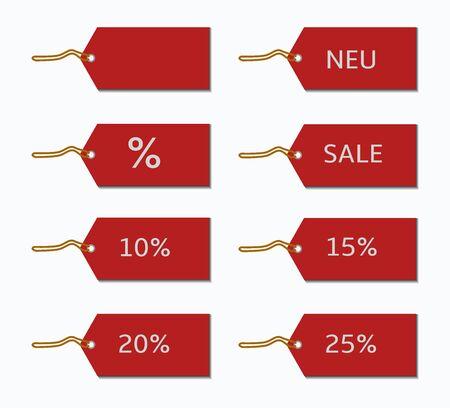 liquidation: discount labels