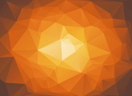 brown: brown abstract background circular gradient Illustration