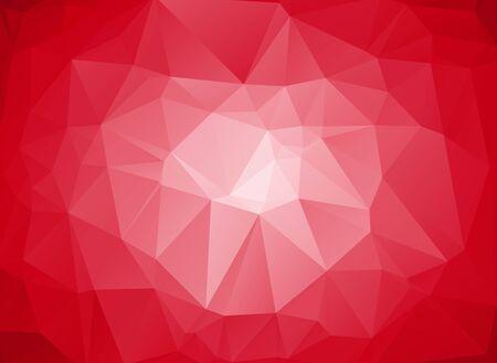 fond abstrait rouge: rouge abstrait d�grad� circulaire Illustration