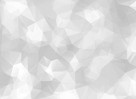 grey abstract background: low poly gray and white