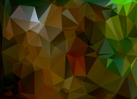 brown: low poly background brown and green
