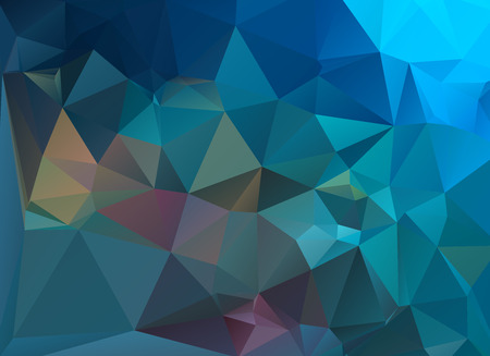 seabed: low poly seabed Illustration
