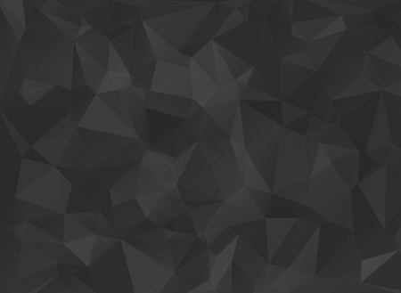 low poly black background Stock fotó - 45476834