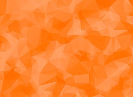 low poly orange background