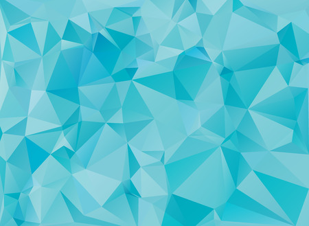 low poly light blue background Ilustrace
