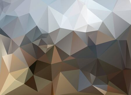 cloudy sky: low poly background cloudy sky and mountains