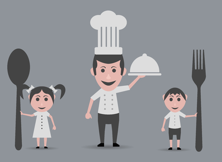 hungry children: chef and hungry children