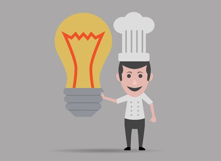 new ideas: chef with new ideas
