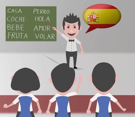 academie spaanse leraar