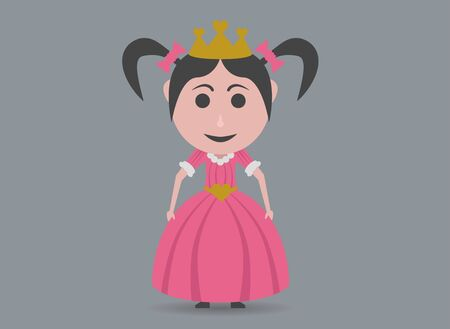 disguised: girl disguised princess Illustration