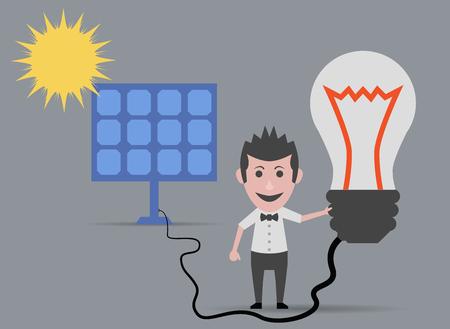 lighting bulb: solar energy lighting bulb