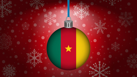 cameroon: christmas in cameroon Illustration
