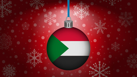 Sudan: christmas in sudan Illustration