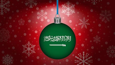 saudi arabia: christmas in saudi arabia