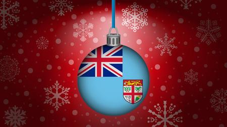 fiji: christmas in fiji Illustration