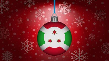 burundi: christmas in burundi Illustration