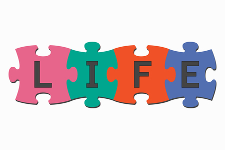 cooperate: word puzzle pieces life