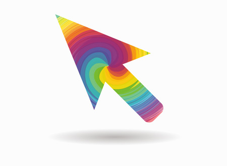mouse pointer: mouse pointer colorful icon