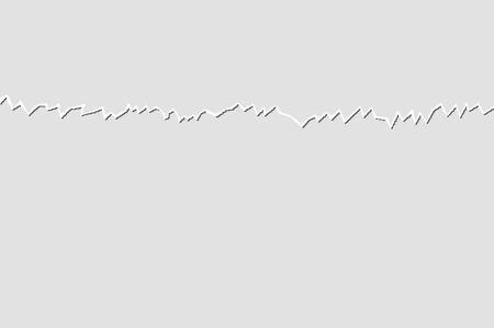 white sheet: white sheet torn notebook