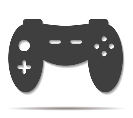 double game: game double shadow icon vector