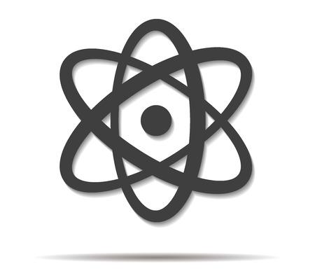 shadow: science double shadow icon vector