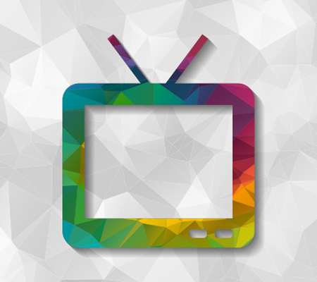 lcd: tv low poly
