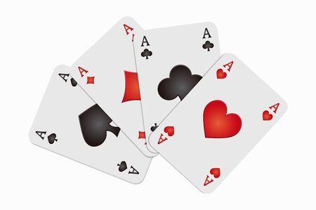 jack of diamonds: background poker aces