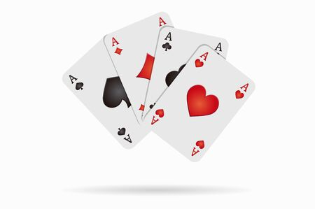 black jack: background four aces