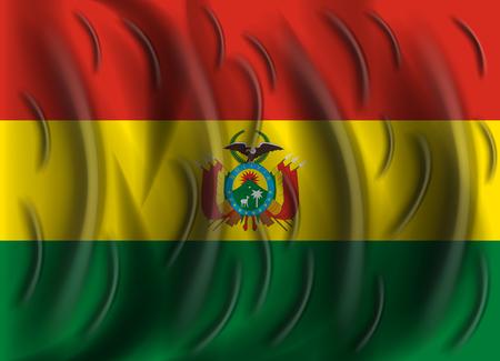 bolivia: bolivia wind flag