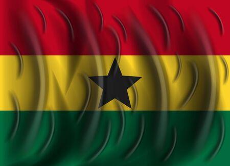 ghana: ghana wind flag