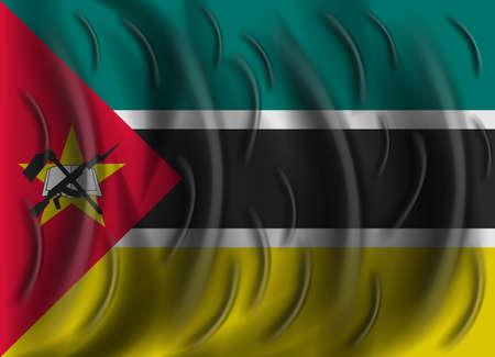 mozambique: mozambique wind flag