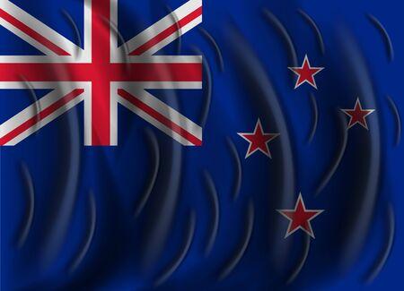 bandera de nueva zelanda: nueva bandera de viento Zelanda