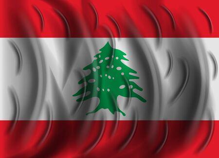 lebanon: lebanon wind flag