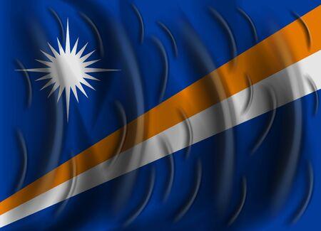 marshall: marshall islands wind flag