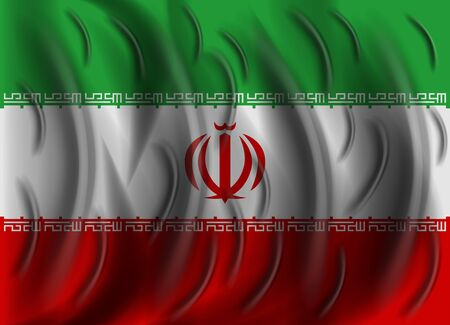 iran: iran wind flag