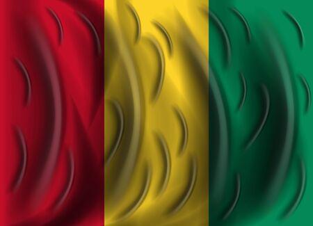 guinea: guinea wind flag
