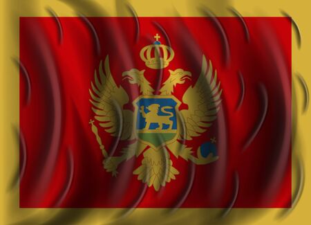 montenegro: montenegro wind flag