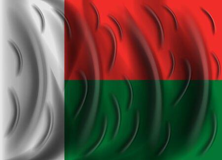 madagascar: madagascar wind flag