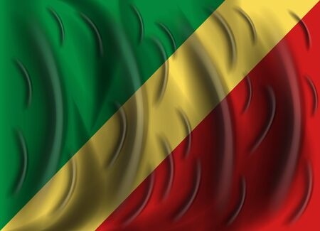 republic of the congo: republic congo wind flag