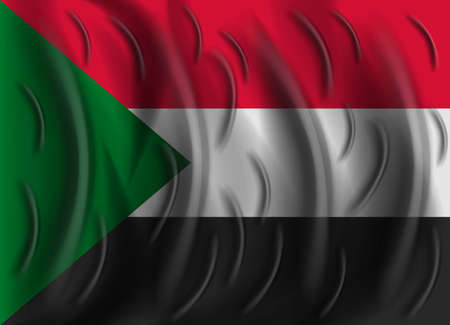 Sudan: sudan wind flag